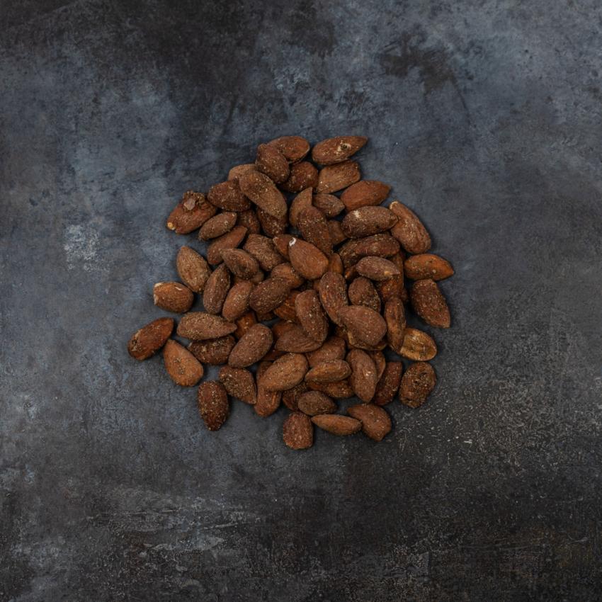 Mandler med ingefær og baharat