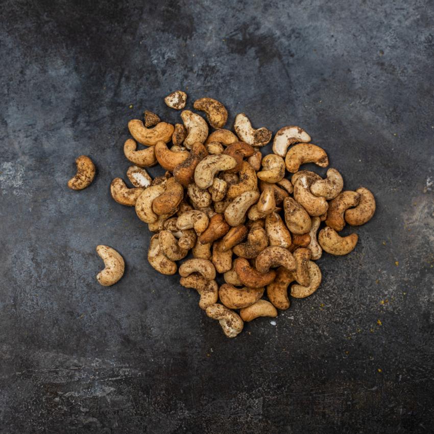 Cashewnødder med garam masala