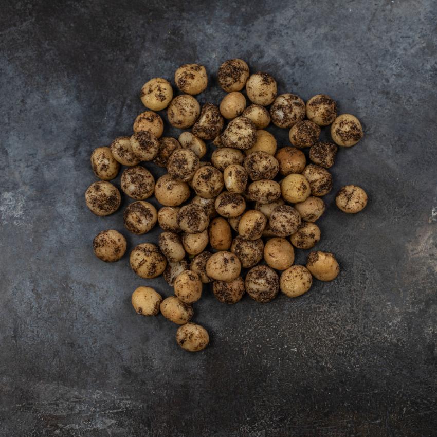 Macadamia nødder med baharat