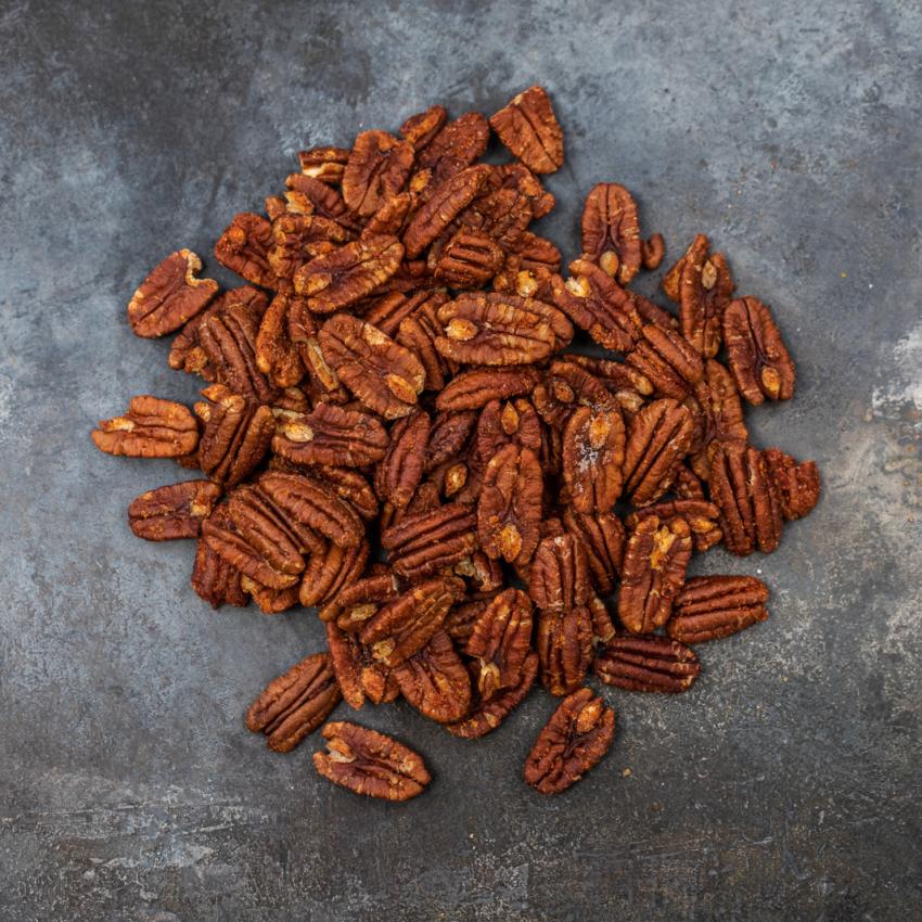 Pekannødder med tandoori masala