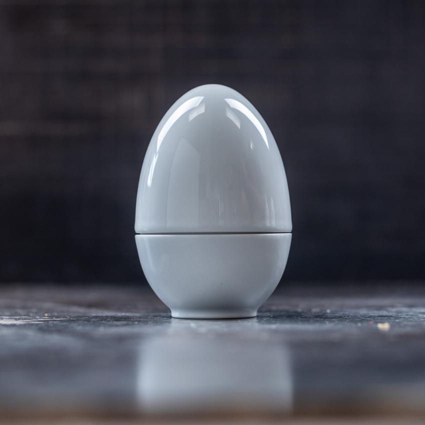 Lille Matroschischka hvidt æg