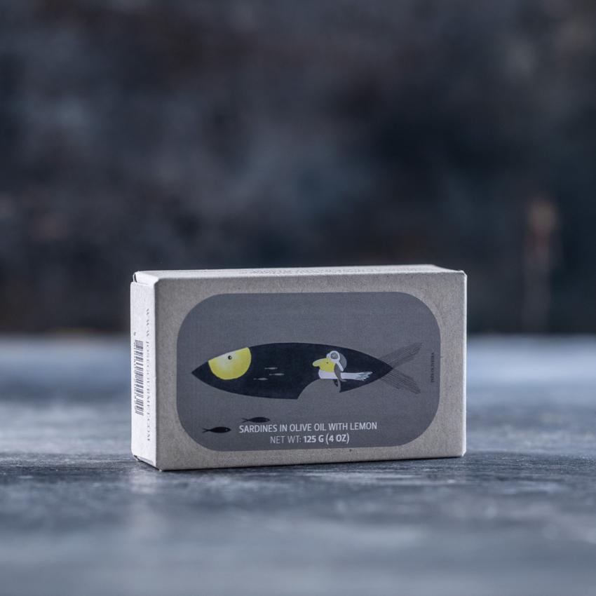 Sardiner med citron og olivenolie – JOSE GOURMET