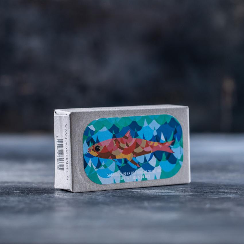 Sardiner i ekstra jomfruolivenolie – JOSE GOURMET