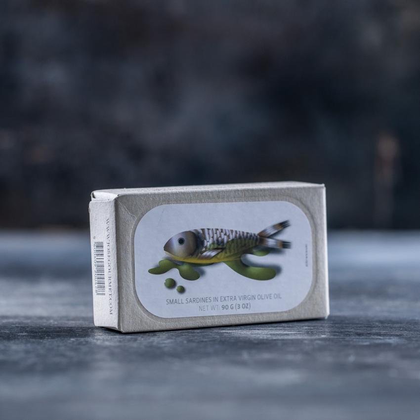 Små sardiner i ekstra jomfruolivenolie – JOSE GOURMET