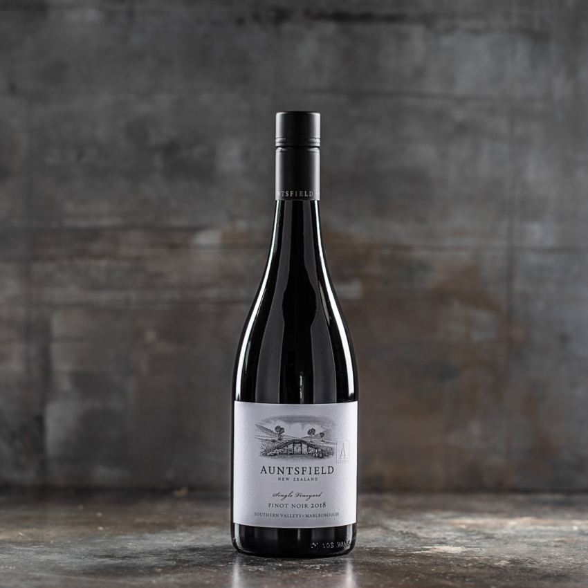 2018 Pinot Noir, Single Vineyard, Auntsfield Estate