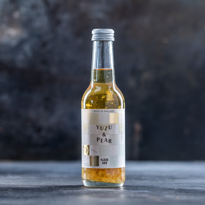 Yuzu og pear still