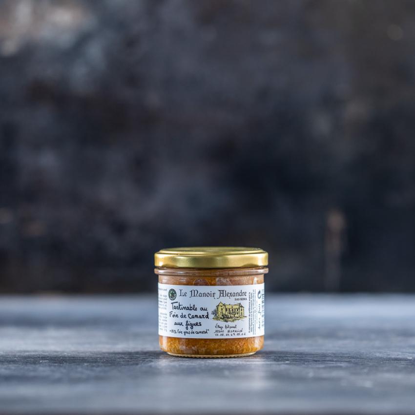 Foie gras mousse med figner