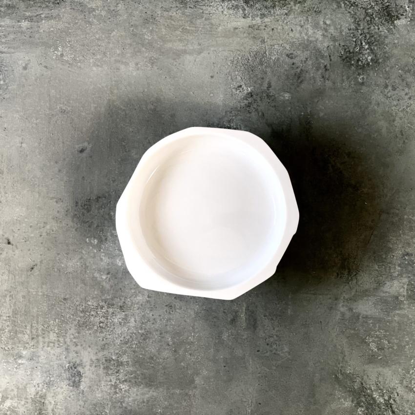 Pépites flad base, Hvid