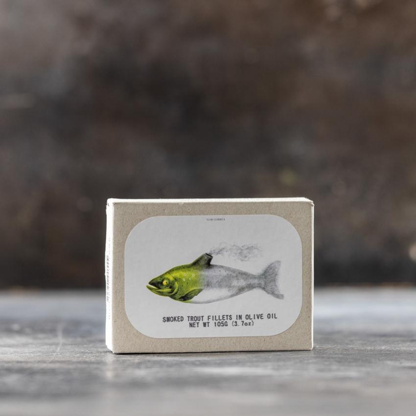Røget ørred filetter i olivenolie – JOSE GOURMET