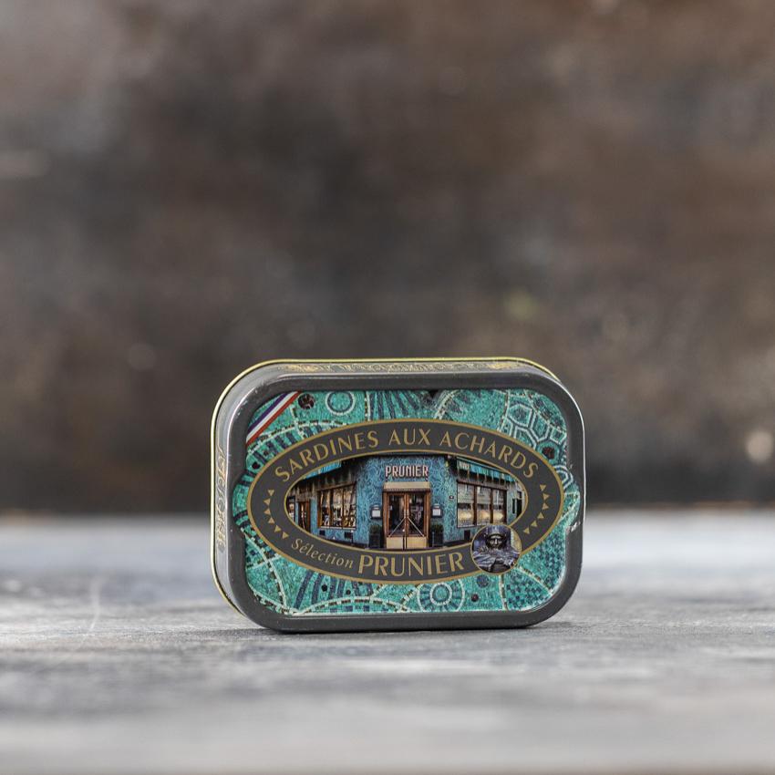 Krydret sardiner – PRUNIER