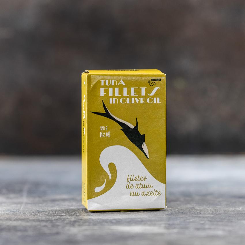 Tun filet i olivenolie – Atimanel