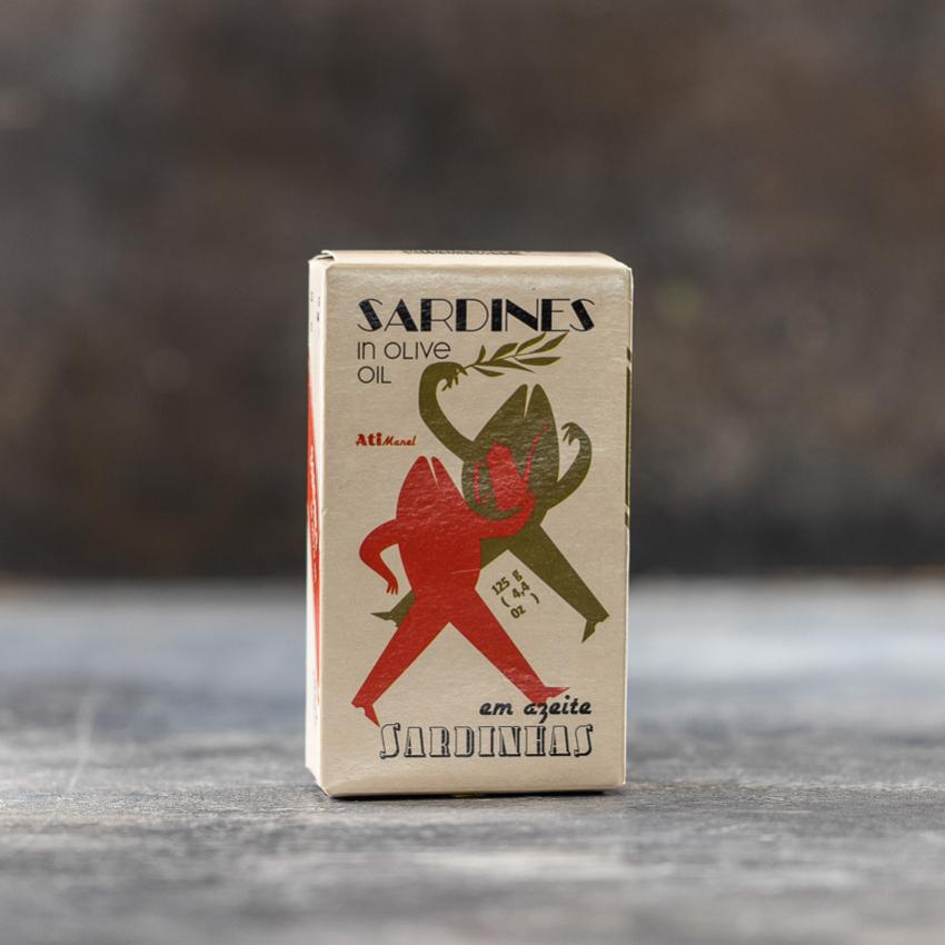 Sardiner i olivenolie – Atimanel