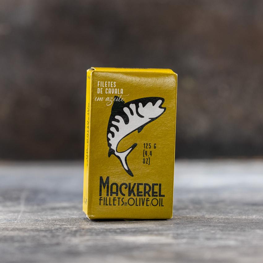 Makrel i olivenolie – Atimanel
