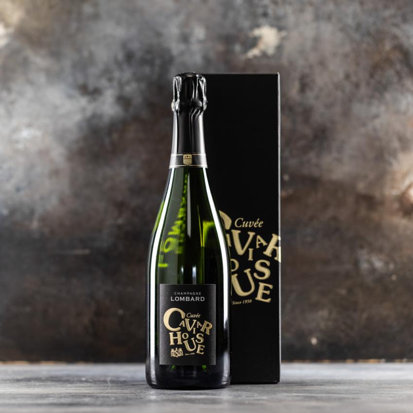 Brut, Cuveé CAVIAR HOUSE, Champagne LOMBARD