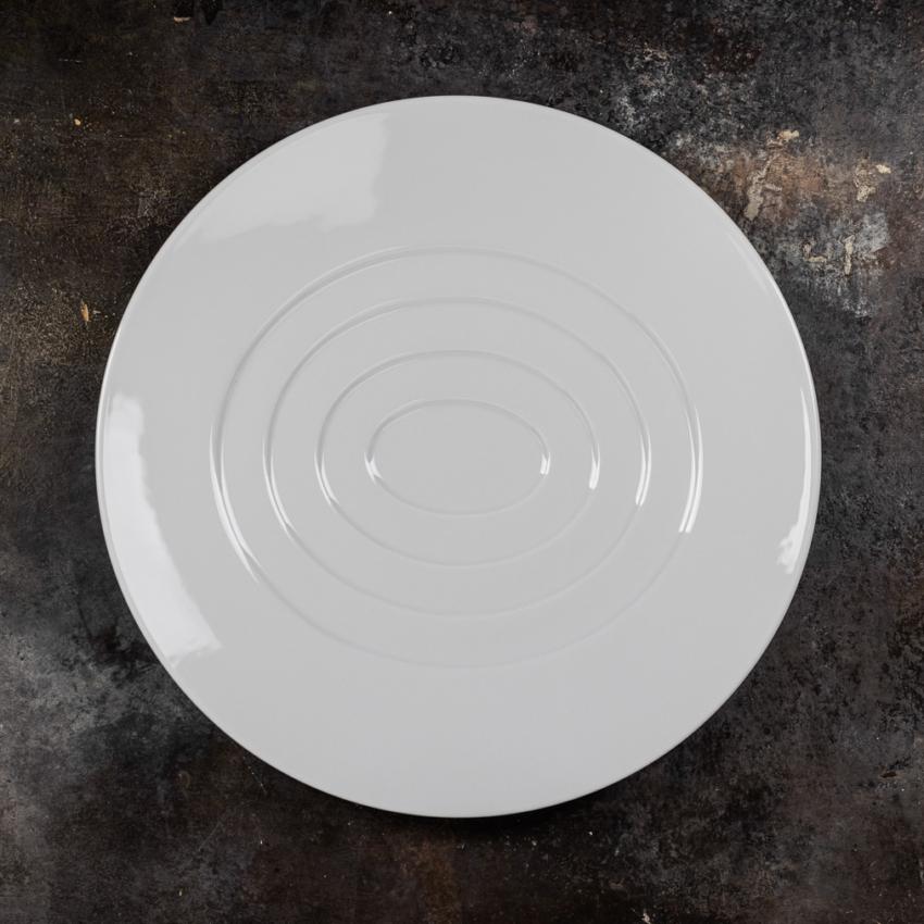 Hommage Concentric Oval tallerken