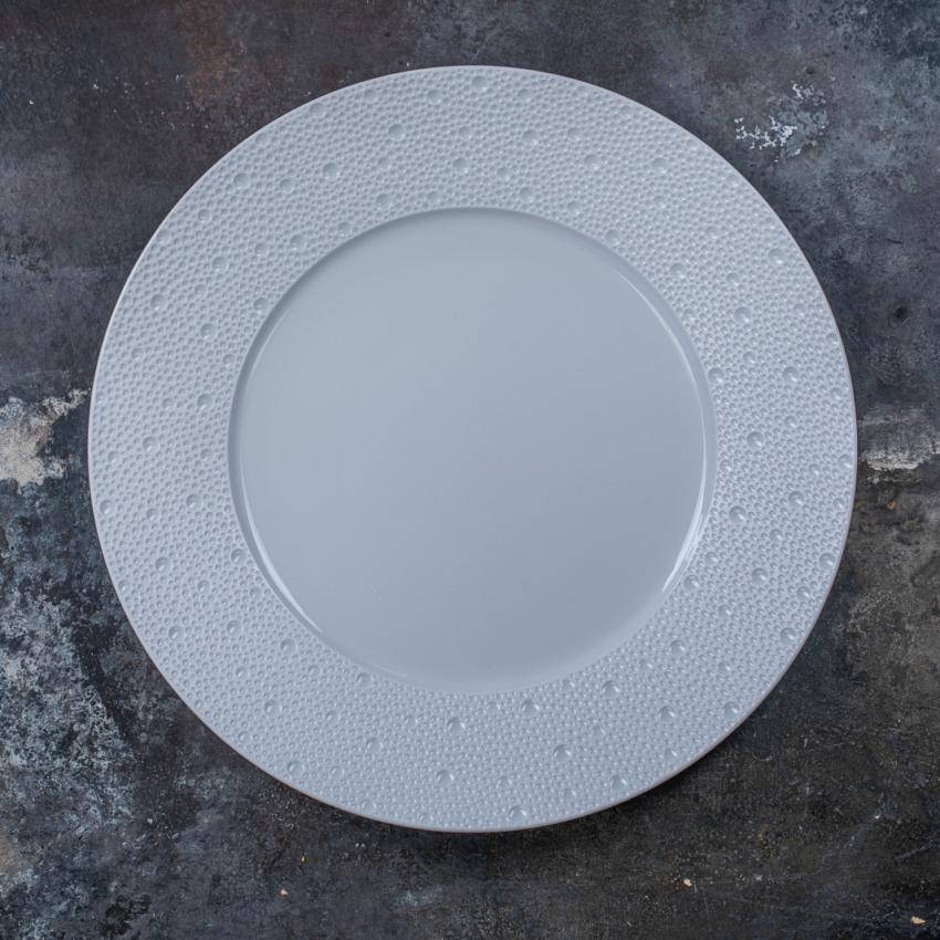 Ecume Blanc Assiette