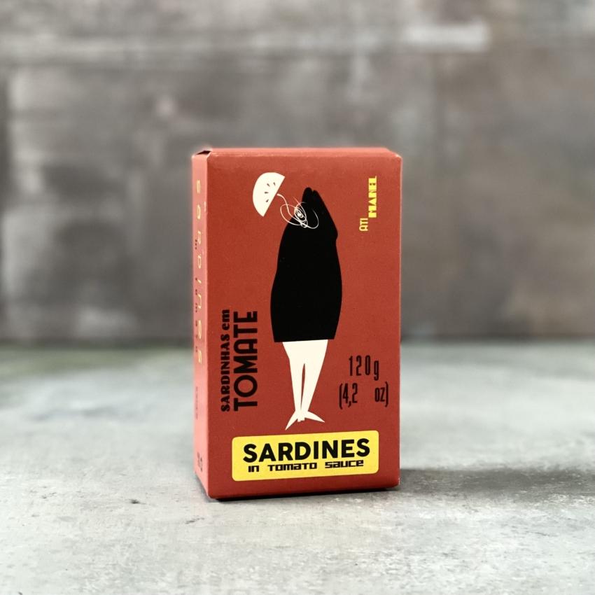 Sardiner i Tomatsauce – Atimanel