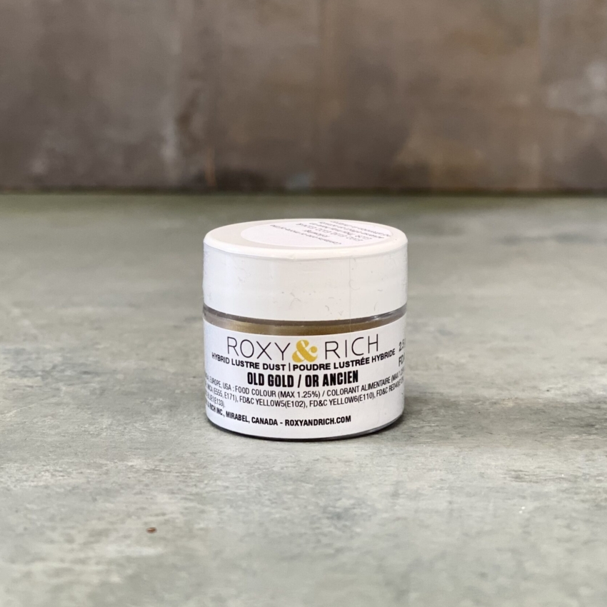 Hybrid Luster Dust – Gammel Guld